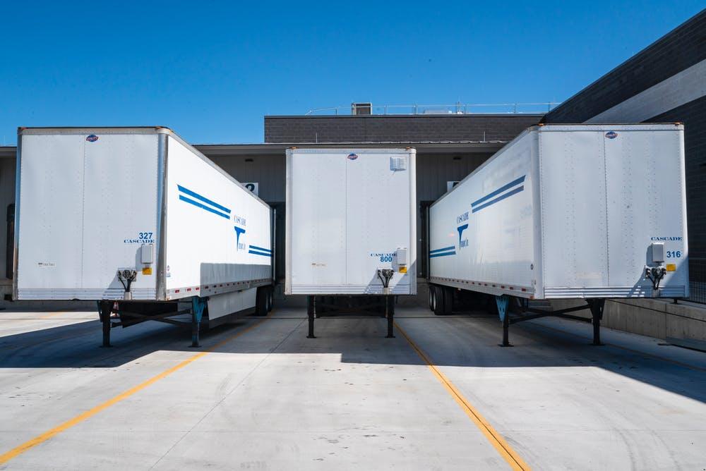 trucks for a logistics company