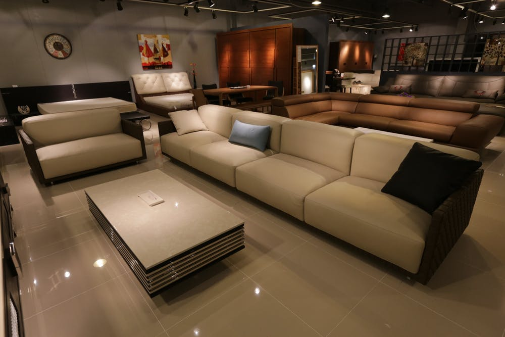 Shop with Italian sofas in Sydney